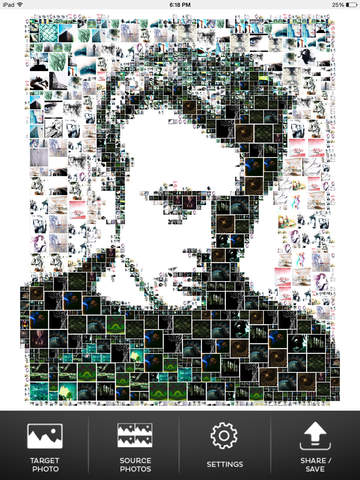 mymosaic - photo mosaic maker screenshot 6