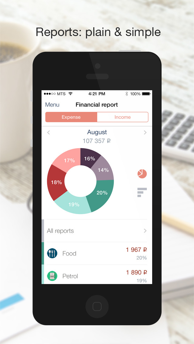 Count - powerful finance manager to control your money screenshot 3