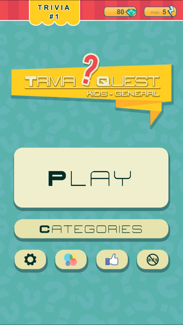 Trivia Quest™ for Kids - general trivia questions for children of all ages screenshot 3