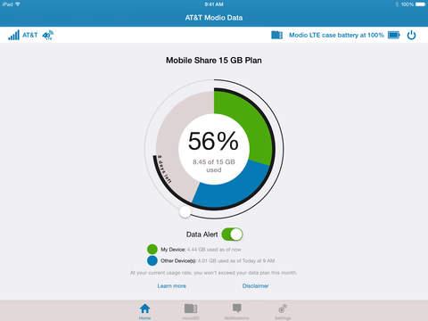 AT&T Modio Data screenshot 1