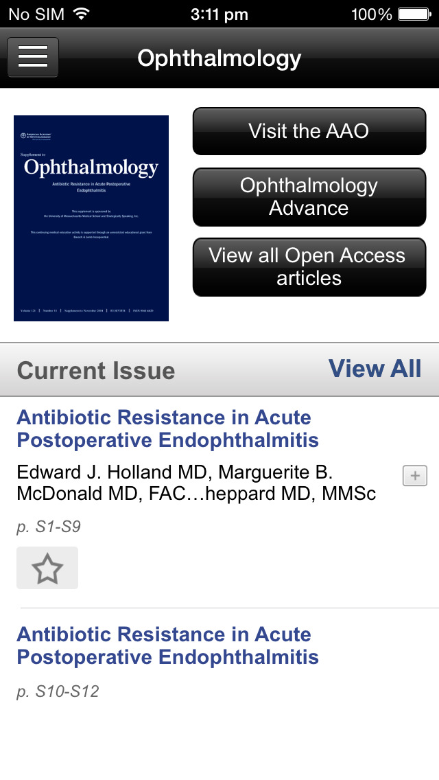 Ophthalmology by AAO screenshot 4