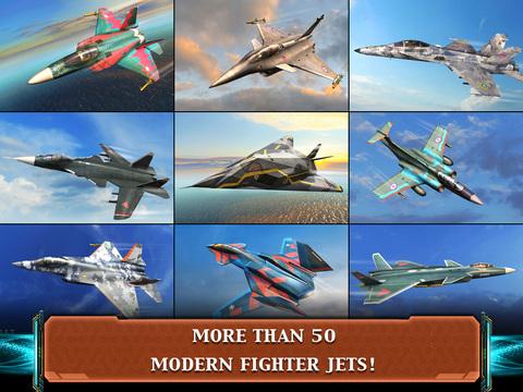 Air Combat OL: Team Match screenshot 9