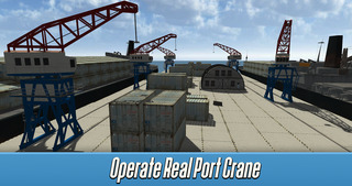 Harbor Tower Crane Simulator 2017 Full screenshot 3