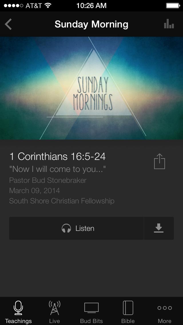 SouthShoreChristianFellowship App screenshot 3