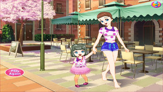 Mother And Daughter Dress Up screenshot 4