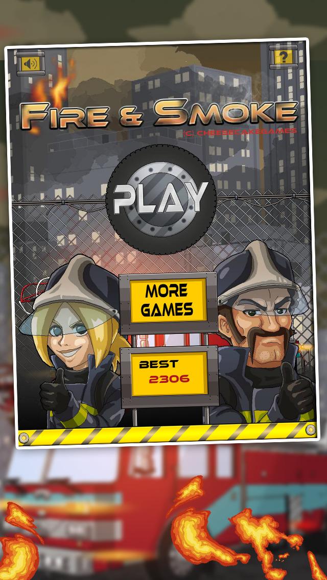 Fire & Smoke - Infernal Burning House Climber Game screenshot 5