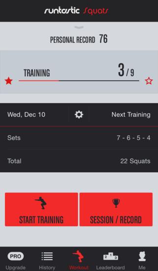 Squats Trainer & Workouts screenshot 1