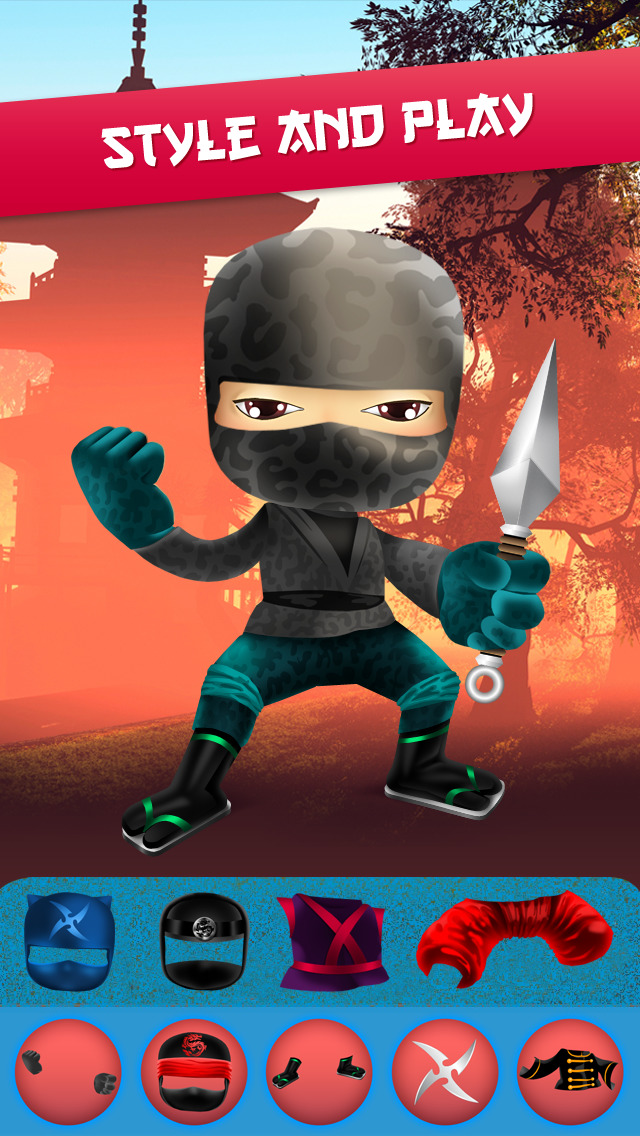 My Epic Ninja Superheroes World Fighter Club Game screenshot 5