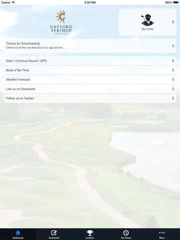 Gaylord Springs Golf Links screenshot 7