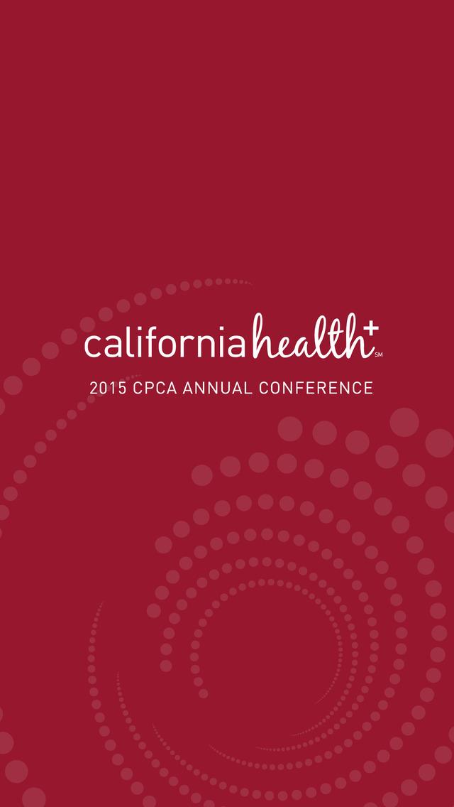 2015 CPCA Annual Conference screenshot 1
