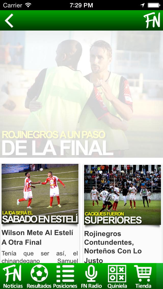 FutbolNica - fútbol Nicaragüense screenshot 3