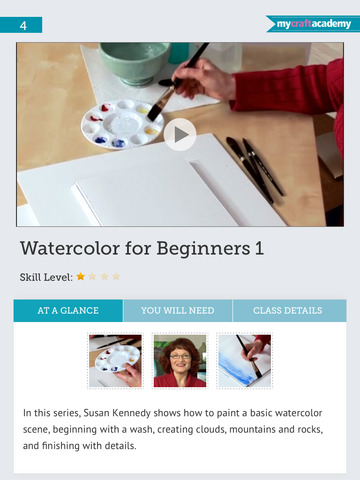Watercolor painting for beginners screenshot 9