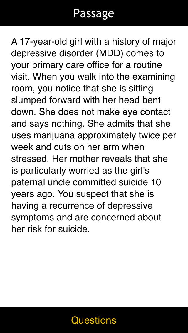 USMLE Psychiatry Q&A by LANGE screenshot 3