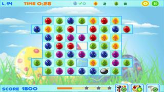 Easter Bunny Eggs - Free Match-3 Chocolate Egg Hunt screenshot 3