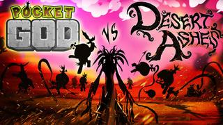 Pocket God vs Desert Ashes screenshot 1