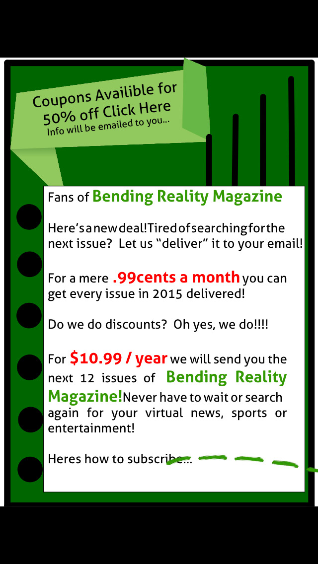 Bending Reality Magazine screenshot 5