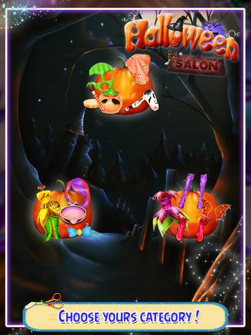 Halloween Salon Game screenshot 5