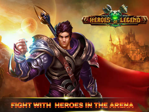 Heroes of Legend : Castle Defense screenshot 6
