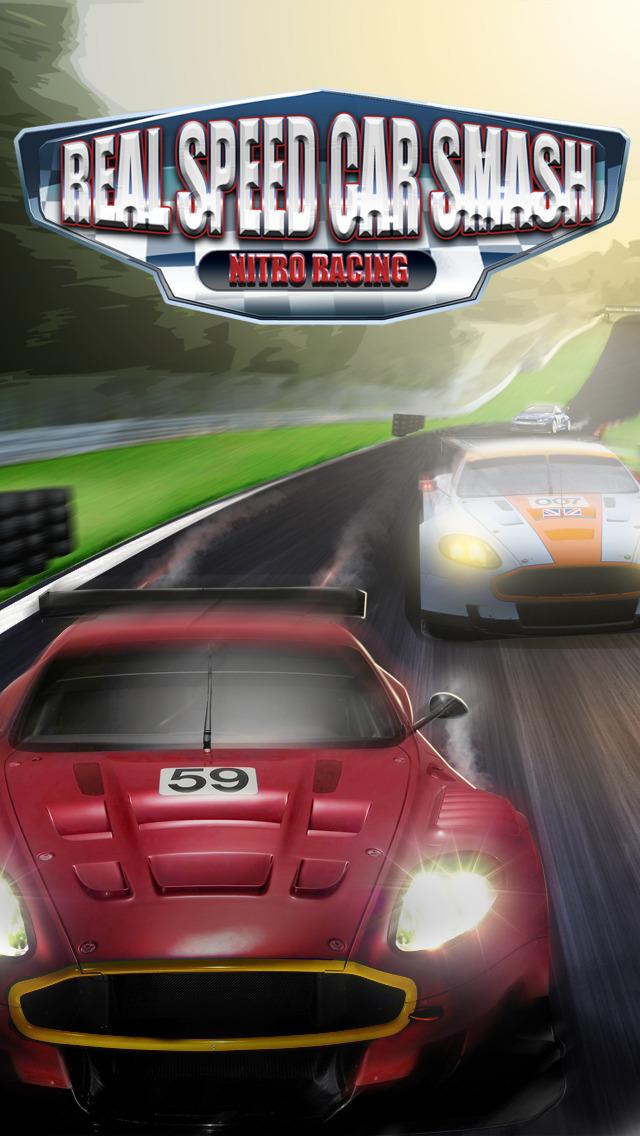 `Real Speed Car Smash Driving: The Furious Grand Nitro Racing Simulator screenshot 1