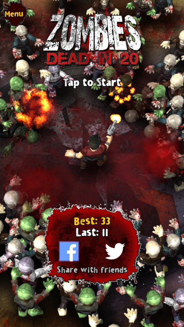Zombies: Dead in 20 Free screenshot #5