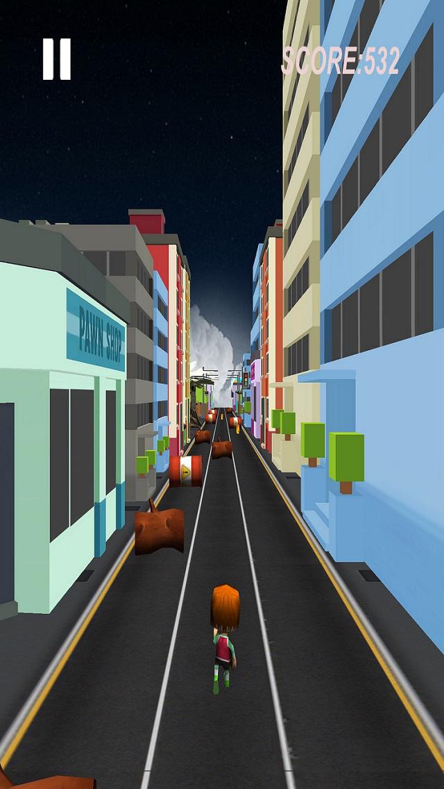 City Runner 3D screenshot 4