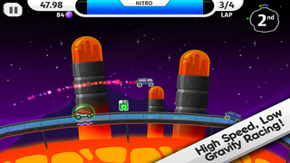 Lunar Racer screenshot 1