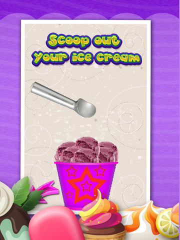 A+ Chilly Dessert Maker & Sweet Ice Cream Creator - Cone, Sundae, & Sandwich screenshot 9