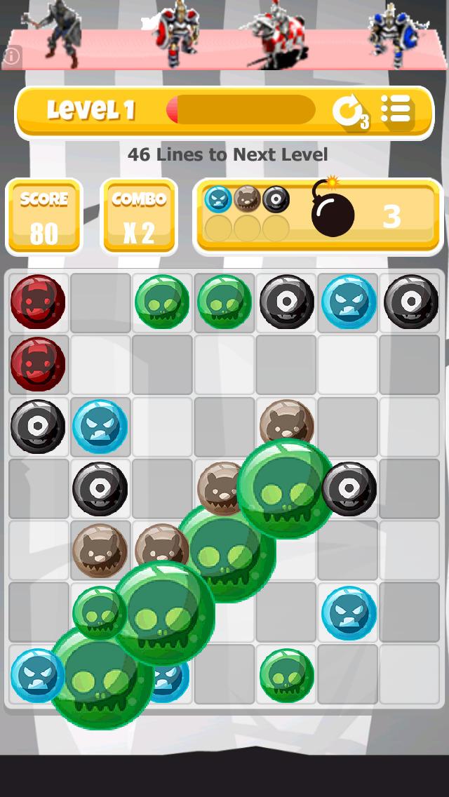 A Monster Match Mania: Creepy Creature Edition - Pro screenshot 1