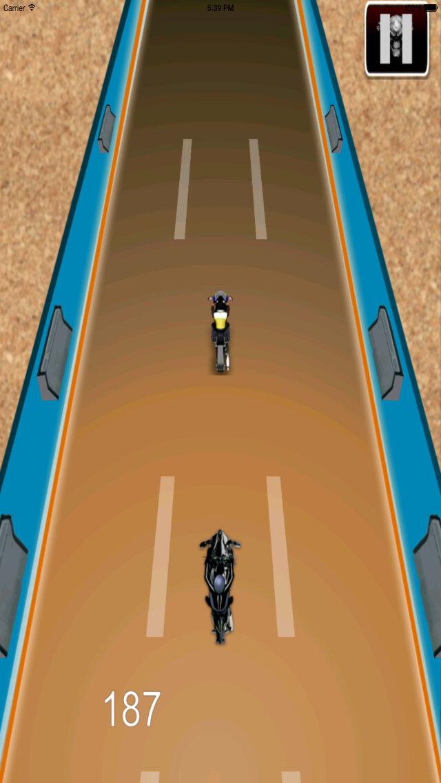 Radiation Fire Bike Pro - Furious One Touch Motorcycle Racing screenshot 2