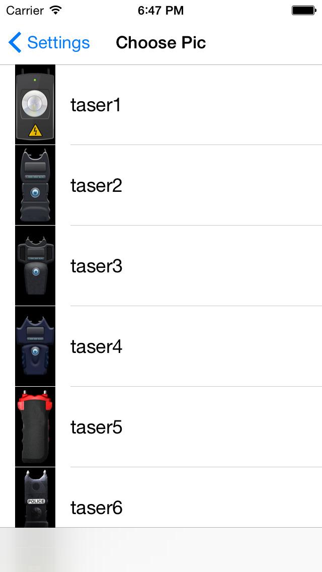 Tazer Pro: Taser Stun Gun Prank screenshot 4