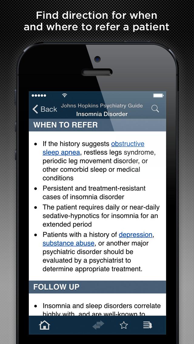 Johns Hopkins Psychiatry Guide 2015 screenshot 4