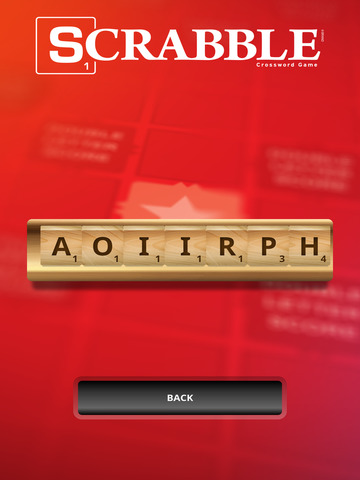 SCRABBLE Word Companion screenshot #1