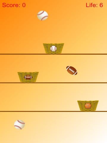 Ball Collect - Separate Baseball, Basketball And Football screenshot 3