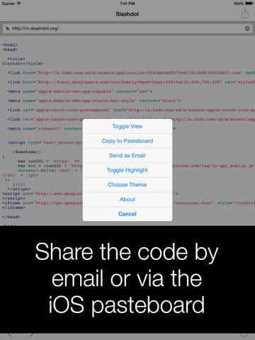 View Source – HTML, JavaScript and CSS screenshot 7