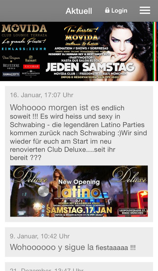 Movida MUC screenshot 1