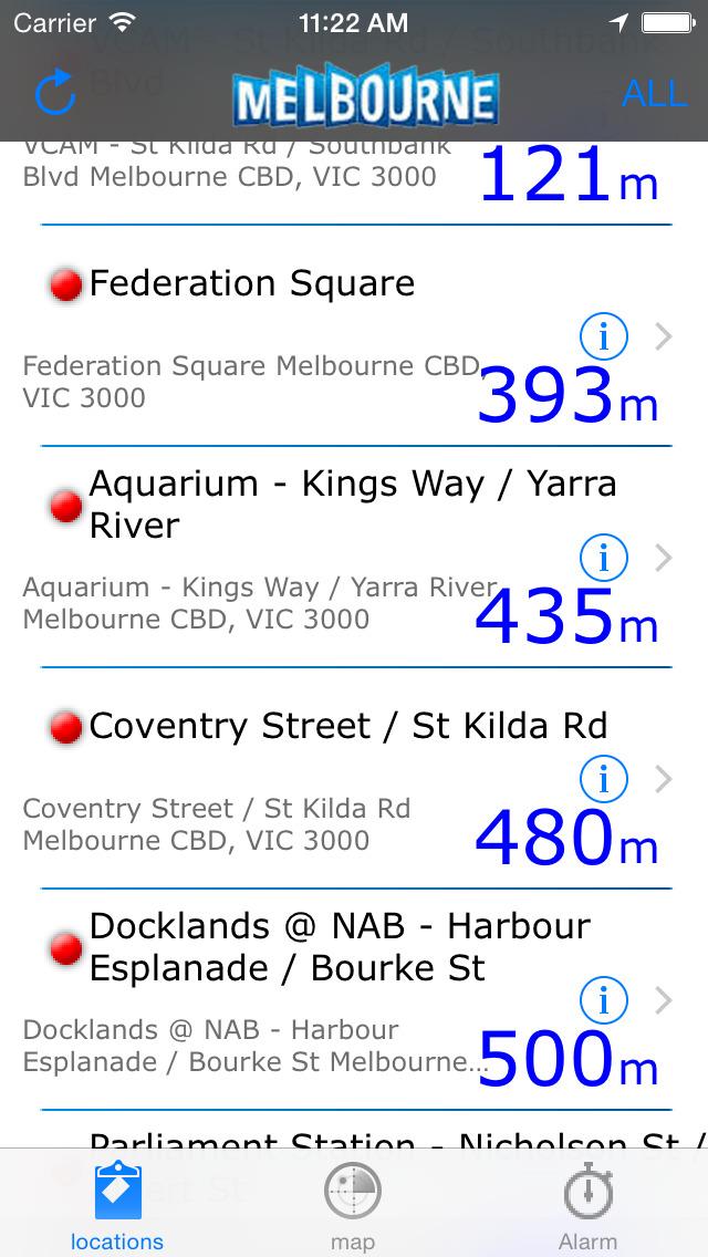 Melbourne Bike Share screenshot 3