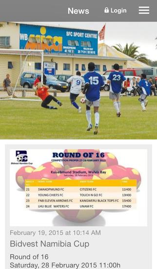 SFC Sport Club Swakopmund screenshot 1