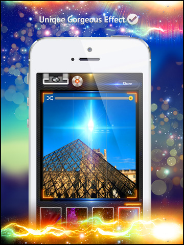 Awesome Light Camera FX Plus - The ultimate photo editor plus art image effects & filters screenshot 9