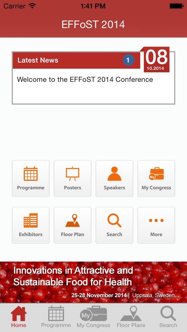 Effost 2014 screenshot 2