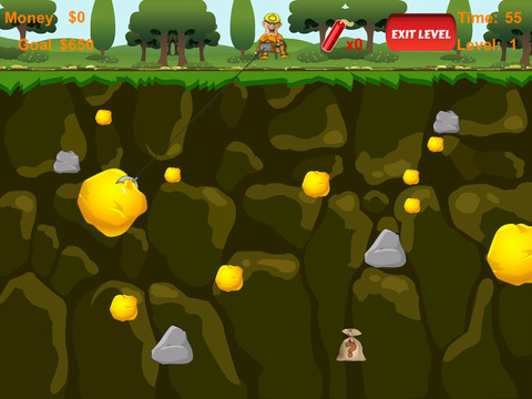 Gold Mining Prospector Game Free screenshot 8