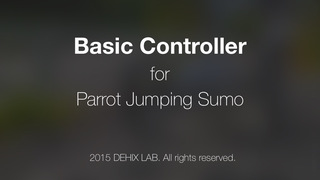 Basic Controller Jumping Sumo screenshot 4