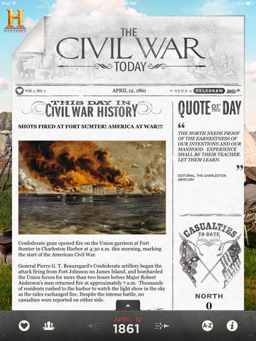 The Civil War Today screenshot 1