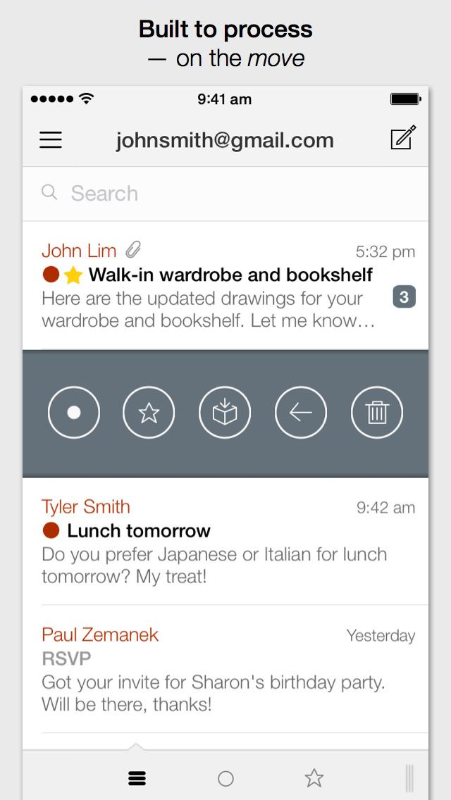 Dispatch: Email meets GTD screenshot 1