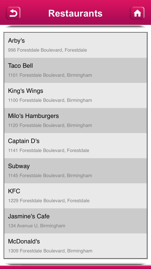 Chicken Restaurants USA & Canada screenshot 5
