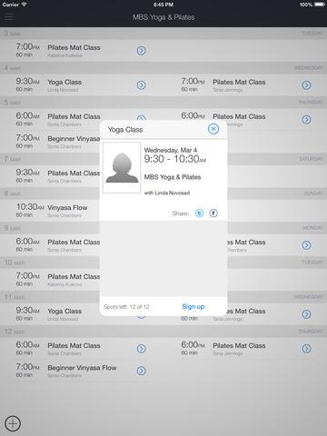 MBS Yoga & Pilates screenshot 6