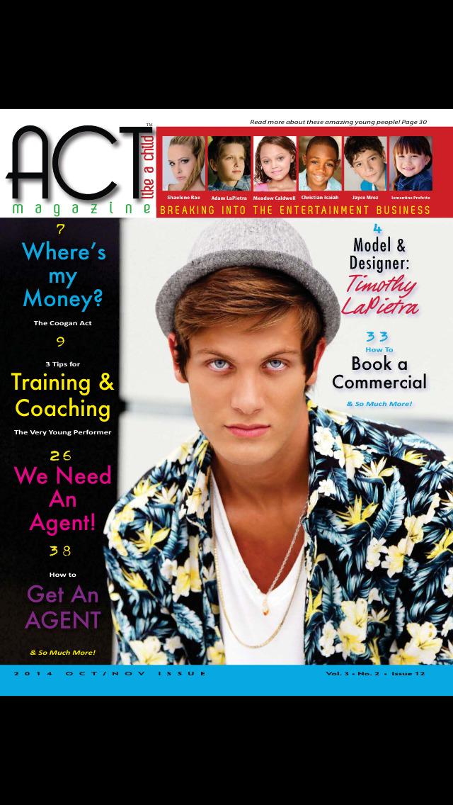 ACT Like A Child Magazine screenshot 1