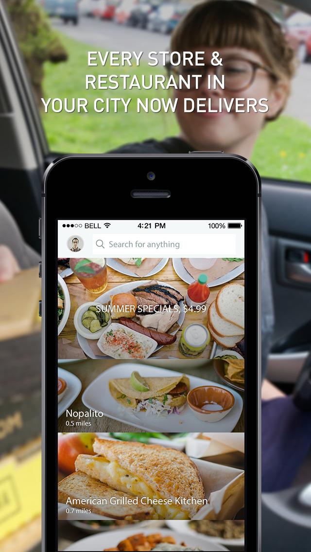Postmates - Food Delivery screenshot 1