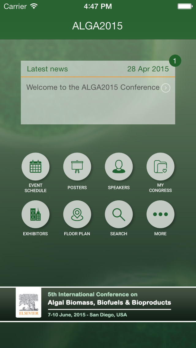 ALGA2015 screenshot 2
