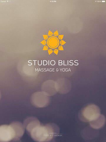 Studio Bliss Massage & Yoga screenshot #1