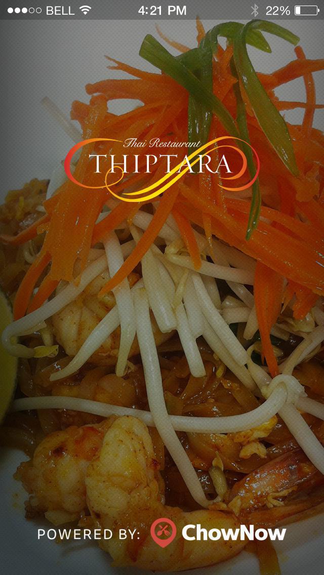 Thiptara Thai screenshot 1